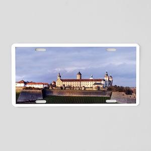 Festung Marienberg Aluminum License Plate