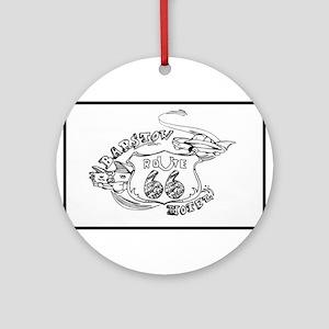 barstow rt 66 Ornament (Round)