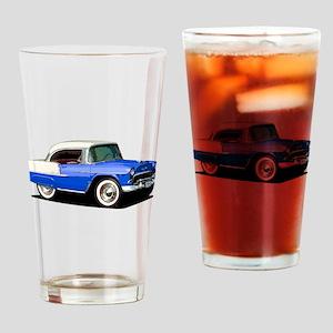 BabyAmericanMuscleCar_55BelR_Xmas_Blue Drinking Gl