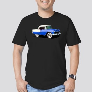 BabyAmericanMuscleCar_55BelR_Xmas_Blue T-Shirt