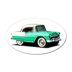 BabyAmericanMuscleCar_55BelR_Xmas_Green Wall Decal