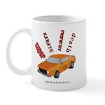 Super karate monkey death car Mug