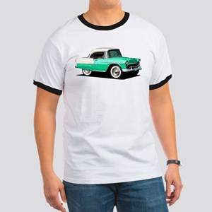 BabyAmericanMuscleCar_55BelR_Xmas_Green T-Shirt
