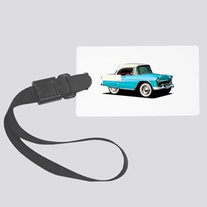BabyAmericanMuscleCar_55BelR_Skyblue Luggage Tag