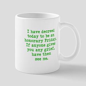Honorary Friday Mugs