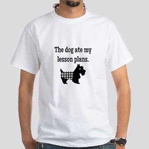 Dog Ate My Lesson Plans T-Shirt
