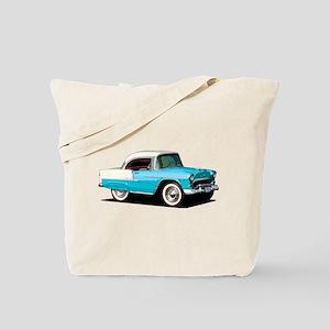 BabyAmericanMuscleCar_55BelR_Skyblue Tote Bag