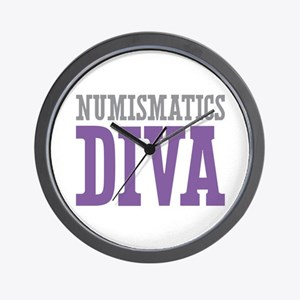 Numismatics DIVA Wall Clock