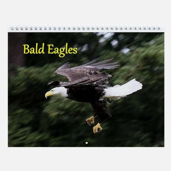 Wall Calendar-Bald Eagles