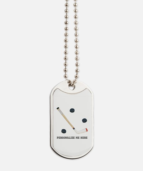 Personalized Hockey Dog Tags