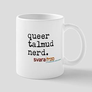 queer talmud nerd Mugs