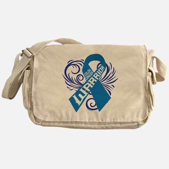 Colon Cancer Warrior Messenger Bag