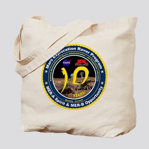Mars Rovers 10Th Birthday! Tote Bag