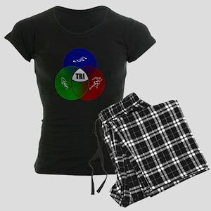 Tri circles Women's Dark Pajamas