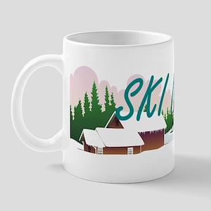 Ski Nordic 11 oz Ceramic Mug