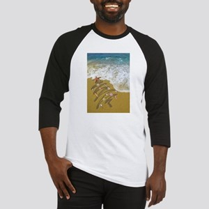 Washed Up on Shore no edges Baseball Jersey