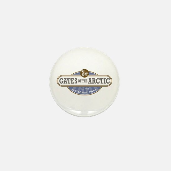 Gates of the Arctic National Park Mini Button