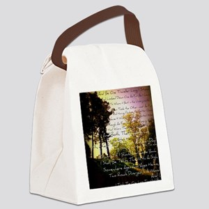 Two Roads Canvas Lunch Bag