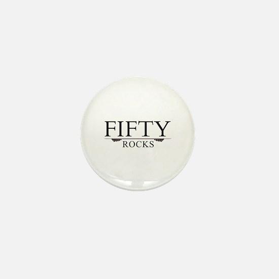Fifty Rocks Mini Button