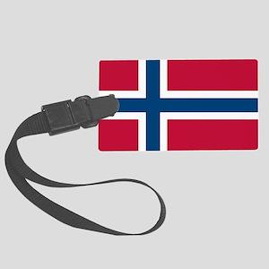 Norwegian Flag Luggage Tag