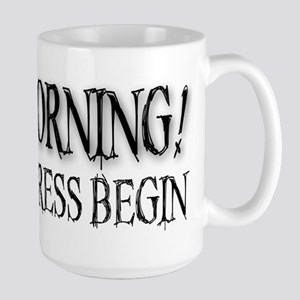 Morning Stress Large Mug