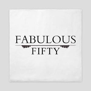 Fabulous Fifty Queen Duvet