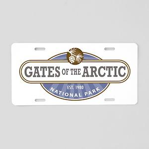 Gates of the Arctic National Park Aluminum License