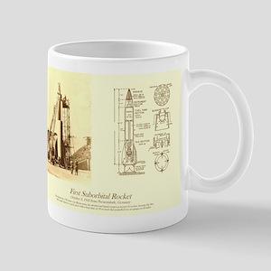 #2 First Suborbital Rocket Mugs