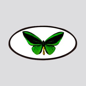 green butterfly Patches