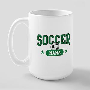 Soccer Nana Large Mug Mugs