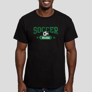 Soccer Nana Men's Fitted T-Shirt (dark)