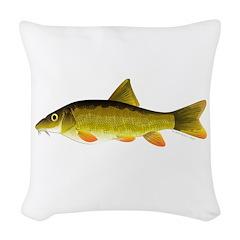 Barbel Woven Throw Pillow