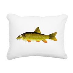 Barbel Rectangular Canvas Pillow