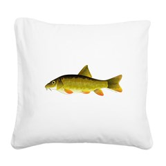 Barbel Square Canvas Pillow