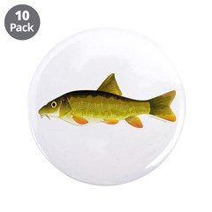 "Barbel 3.5"" Button (10 pack)"