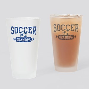 Soccer Grandpa Drinking Glass