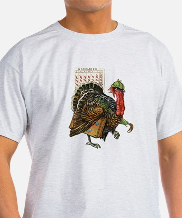 Nervous Turkey - Time to Trot T-Shirt