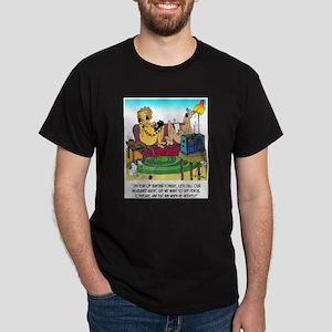 Lion Eats Insurance Agent Dark T-Shirt