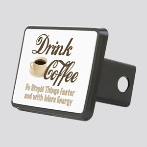 Drink Coffee Hitch Cover