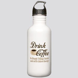 Drink Coffee Water Bottle