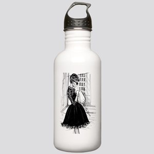 fashion sketch Stainless Water Bottle 1.0L