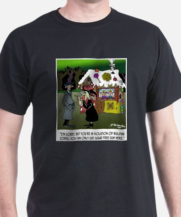 Wicked Witch in Violation of Building Codes T-Shirt