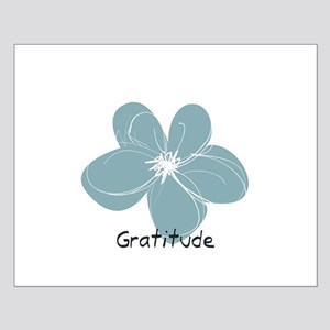 Gratitude floral Posters
