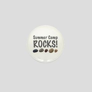 Summer Camp Rocks! Mini Button