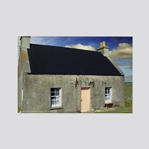 White House Croft in Scotland Rectangle Magnet