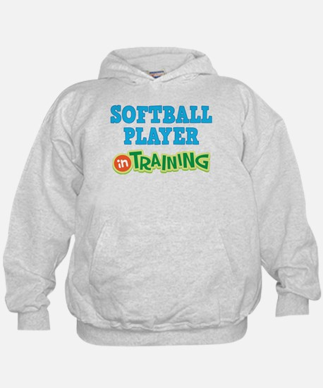 Softball Player in Training Hoodie
