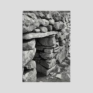 Black Houses, Scotland Rectangle Magnet