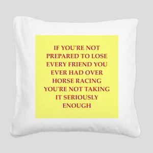 HORSE Square Canvas Pillow