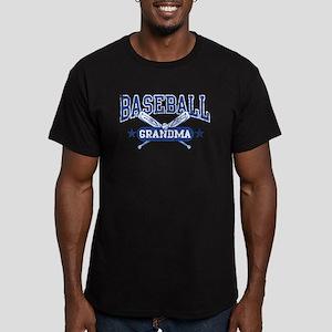 Baseball Grandma Men's Fitted T-Shirt (dark)