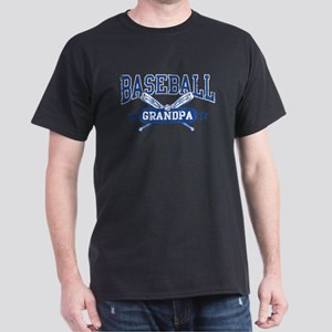Baseball Grandpa Dark T-Shirt